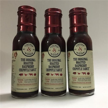 Fischer & Wieser 255816 10.5 oz Roasted Raspberry Chipotle Sauce Pack of 6