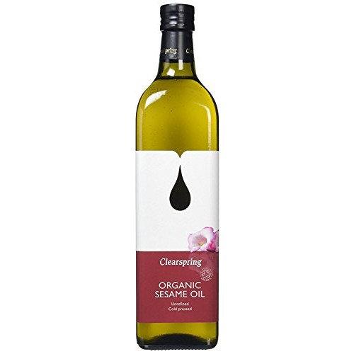 Clearspring Organic Sesame Oil 1000ml (Pack of 10)