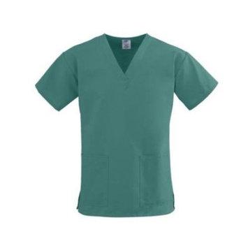 Medline ComfortEase Ladies V-Neck Two-Pocket Scrub Top