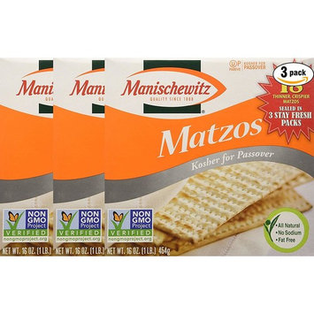 Communion-Matzo Unsalted Bread-Square (10 Matzo Bread Per Box)