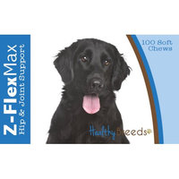 Healthy Breeds 840235107019 Flat Coated Retriever Z-Flex Max Hip & Joint Soft Chews - 100 count