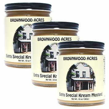 Brownwood Acres Kream Mustard - 3 PACK - Shipping Included