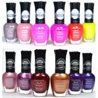 12 FULL KLEANCOLOR POLISH MATTE SUMMER NEON METALLIC LACQUER COLLECTION + FREE EARRING
