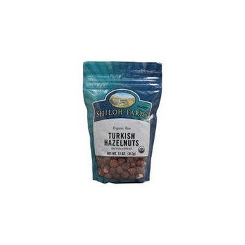 Shiloh Farms Organic Turkish Hazelnuts Raw -- 11 oz