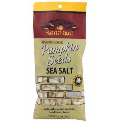 Harvest Roast: Slow Roasted Sea Salt Pumpkin Seeds 2 Oz (12 Pack)