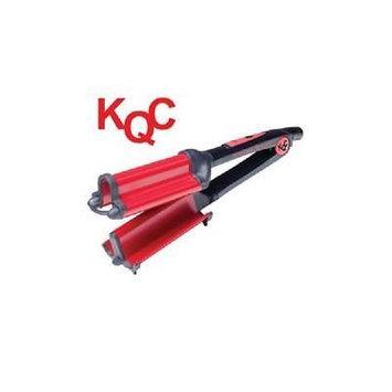 KQC Xtreme Deep Waver Tourmaline / Ceramic Hybrid Iron (40mm) Bonus Kqc Shine Spray