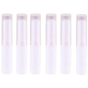 6PCS 4ML Empty Plastic DIY Lipstick Lip Balm Gloss Tubes Holder Containers Crayon Chapstick Deodorant Tube Pipe Bottle Case For Cosmetic