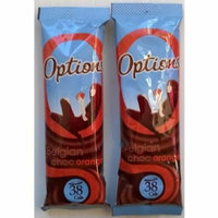 20 Options Orange Belgian Chocolate Individual Sachets