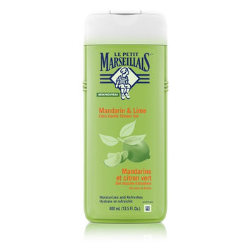 Le Petit Marseillais Extra Gentle Shower Gel, Mandarin & Lime, 400 ml