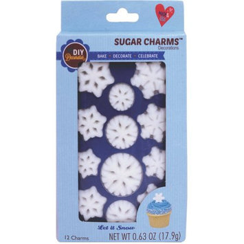Lucks DIY Decorator Let it Snow Sugar Charms Decorations, 0.63 oz