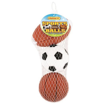 Ruffin It Ruffin' It 3-pk. Sport Balls
