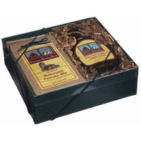 Brown Family Farm Gift Box, 8-Ounce Pure Maple Syrup & 24-Ounce Buttermilk Pancake Mix