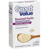 Great Value: Roasted Garlic Mashed Potatoes, 7.2 Oz