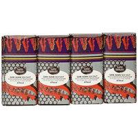 Seattle Chocolates Bar, San Juan Sea Salt, 2.5 Ounce (Pack of 12)