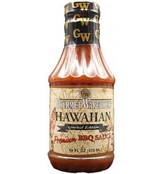 Gourmet Warehouse HAWAIIAN BBQ SAUCE (Pack of 4)