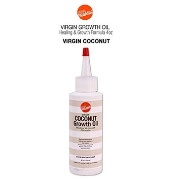 Virgin Organic Coconut Growth Oil Healing & Hair Growth Formula 4oz