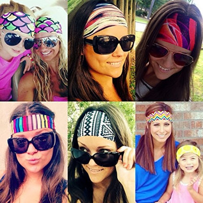 Headbands By Hippie Runner. SUPER BLINGY PATTERNS. No Slip, No Drip Headbands For Running, Walking, Exercise. Buy Three, Get One Free! []