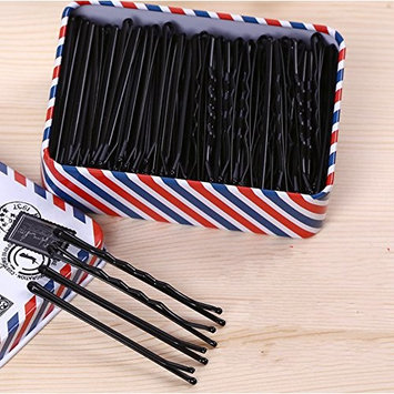 DeroTeno Hair Pins, 200 Pcs Bobby Hairpins Hair Clips with Storage Box for Girls, Women