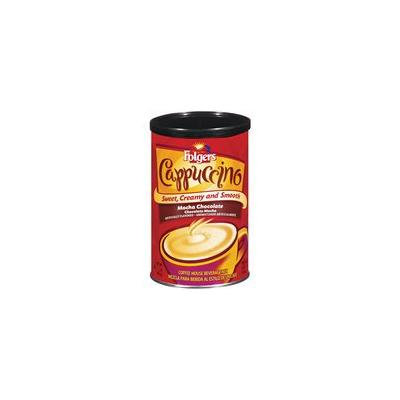 Folgers Mocha Chocolate Cappuccino Coffee Mix, 16 oz(Pack of 4)