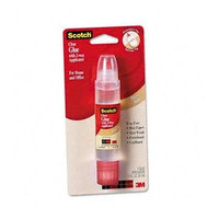 Scotch® Clear Glue with Two-Way Applicator GLUE,ENVELOPES,LABELS,CR (Pack of20)