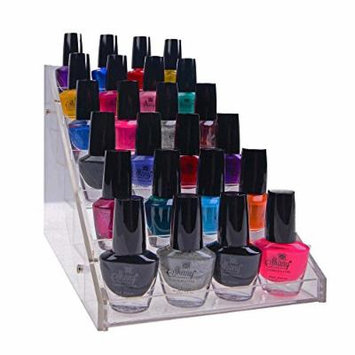 SHANY Vertical Compact Acrylic Nail Polish Table Rack Display