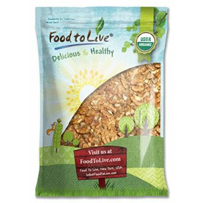 California Organic Walnuts by Food to Live (Raw, No Shell) - 7.5 Pounds