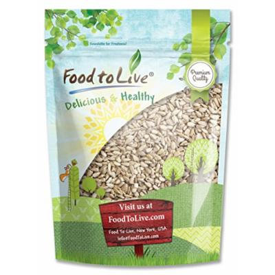 Food to Live Sunflower Seeds (Raw, No Shell) (4 Pounds)