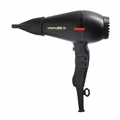 Turbo Power Twin Turbo 3800 Ionic & Ceramic Dryer Black Pibbs, Parlux Hair Dryer