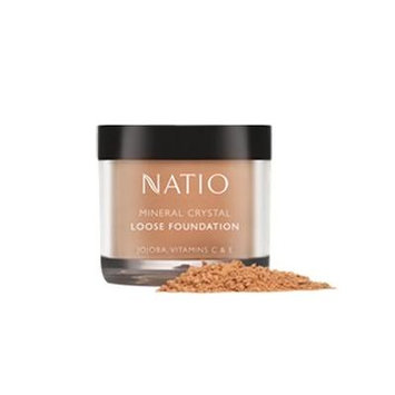 Natio Mineral Crystal Loose Foundation 10g -Sand
