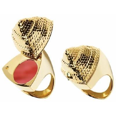 Smashbox The Santigolden Age Be Legendary Snake Pyramid Lipstick Ring - (Still Kickin)