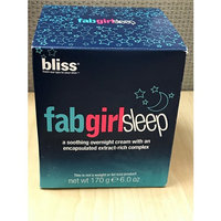 bliss fabgirlsleep a soothing overnight cream with an encapsulated extract-rich complex 6 fl oz