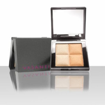 Vasanti See the light Highlighter Duo in Golden Child - Highlighter for Face and Eyes Perfect for all Skin Tones - Paraben Free