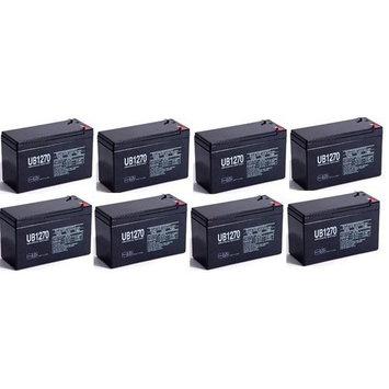 12V 7Ah UPS Battery for Fenton Technologies POWERPURE M2000 - 8 Pack
