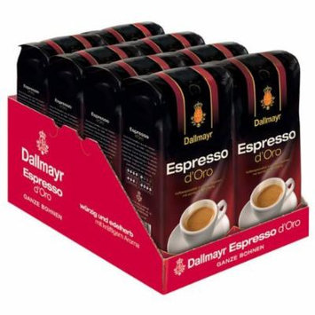 Dallmayr Espresso d Oro Coffee, Whole Beans, Pack of 8, 8 x 1000g