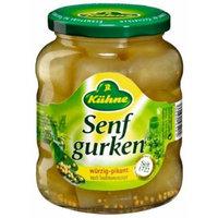 Kuhne Senf Gurken 330g/11.6oz Fine Pickles in Mustard Marinade