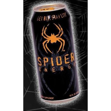 16 Pack - Spider Energy Drink - 16oz.