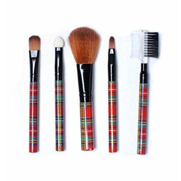 12 Set Stop Nail Essential Makeup Brush 1 Set Of 5 Pcs