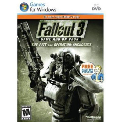 Bethesda Softworks 12890 Fallout 3 Expansion Pack-anchorage & The Pitt