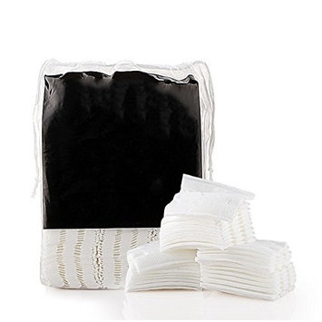 200Pcs Organic Makeup Cotton Pads Facial Soft Cut Cleansing Wash Cotton Pads
