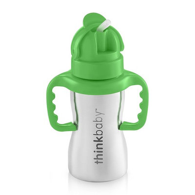 Thinkbaby Thinkster of Ultra Polished Stainless Steel, Green