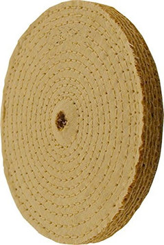 Enkay 158-10SC 10' Sisal Buffing Wheel, Carded