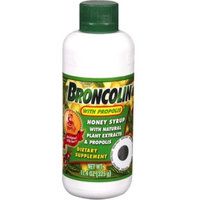 Broncolin Honey Syrup With Natural Plant Extracts & Propolis 11.40 oz