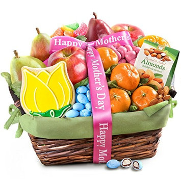 Golden State Fruit Mother's Day Fruit and Treats Gift Basket [Mother's Day]