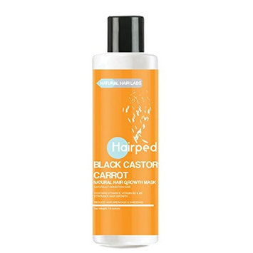 Hairped Black Castor & Carrot Hair Growth Mask