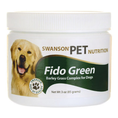 Swanson Fido Green Barley Grass Complex for Dogs 3 oz (85 g) Pwdr