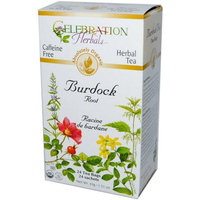 Celebration Herbals Burdock Root Herbal Tea Bags, 24 count, (Pack of 3)