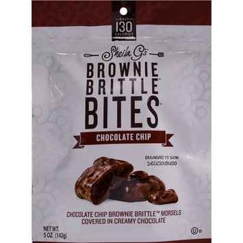 Sheila Gs Brownie Brittle Bites Chocolate Chip Flavor, 5 Oz. [multipack_quantity: multipack_quantity-1]