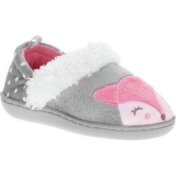 Keon Jong Haimen Co., Ltd. Toddler Girls' Fox Aline Fur Slipper
