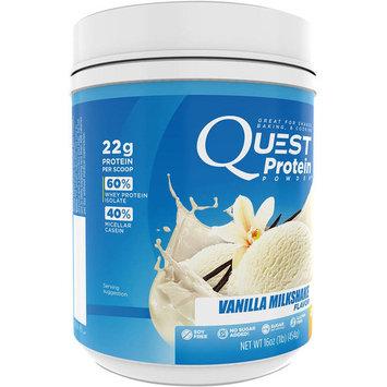 Quest Protein Powder, Vanilla Milkshake, 22g Protein, 1 Lb