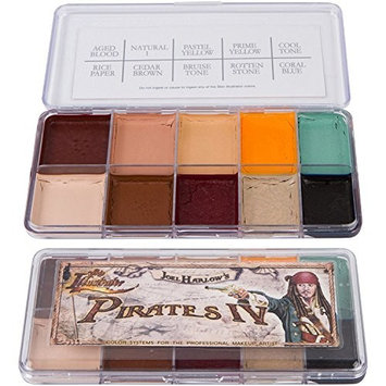 Skin Illustrator Joel Harlow's Pirates IV Professional Alcohol Activated Makeup Palette